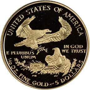 1999 W EAGLE G$5 PF reverse