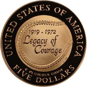 1997 W ROBINSON $5 PF reverse