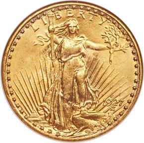 1927 S $20 MS obverse