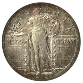 1919 S 25C MS obverse