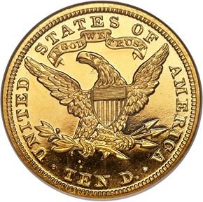 1900 $10 PF reverse