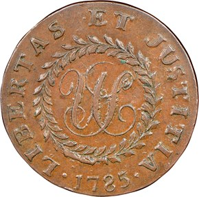1785 LG DATE POINT RAYS NOVA CONSTELLATIO MS reverse