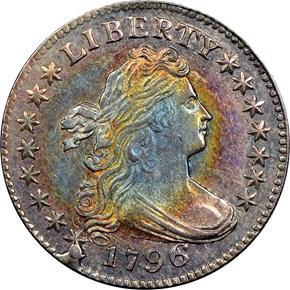 1796 10C MS obverse
