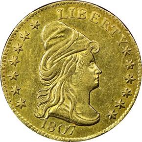 1807 BD-1 $2.5 MS obverse