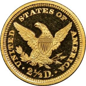 1896 $2.5 PF reverse