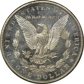1901 O $1 MS reverse