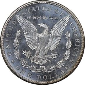 1904 O $1 MS reverse
