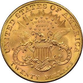 1904 S $20 MS reverse