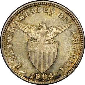 1904 USA-PHIL 20C MS reverse