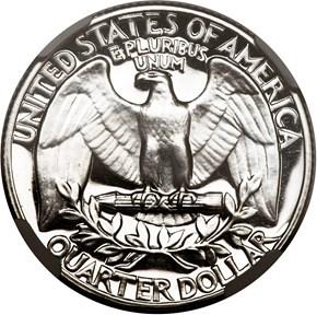 1957 25C PF reverse