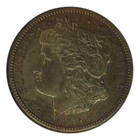 1879 J-1594 25C PF obverse
