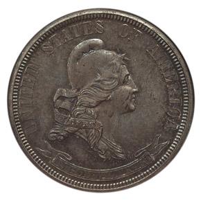 1869 J-722 25C PF obverse