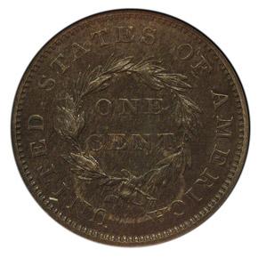 1855 J-168 1C MS reverse