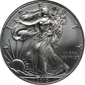 2010 EAGLE S$1 MS obverse