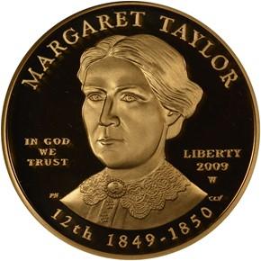 2009 W MARGARET TAYLOR G$10 PF obverse