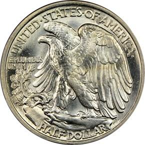 1938 50C MS reverse