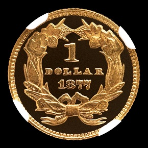 1877 G$1 PF reverse