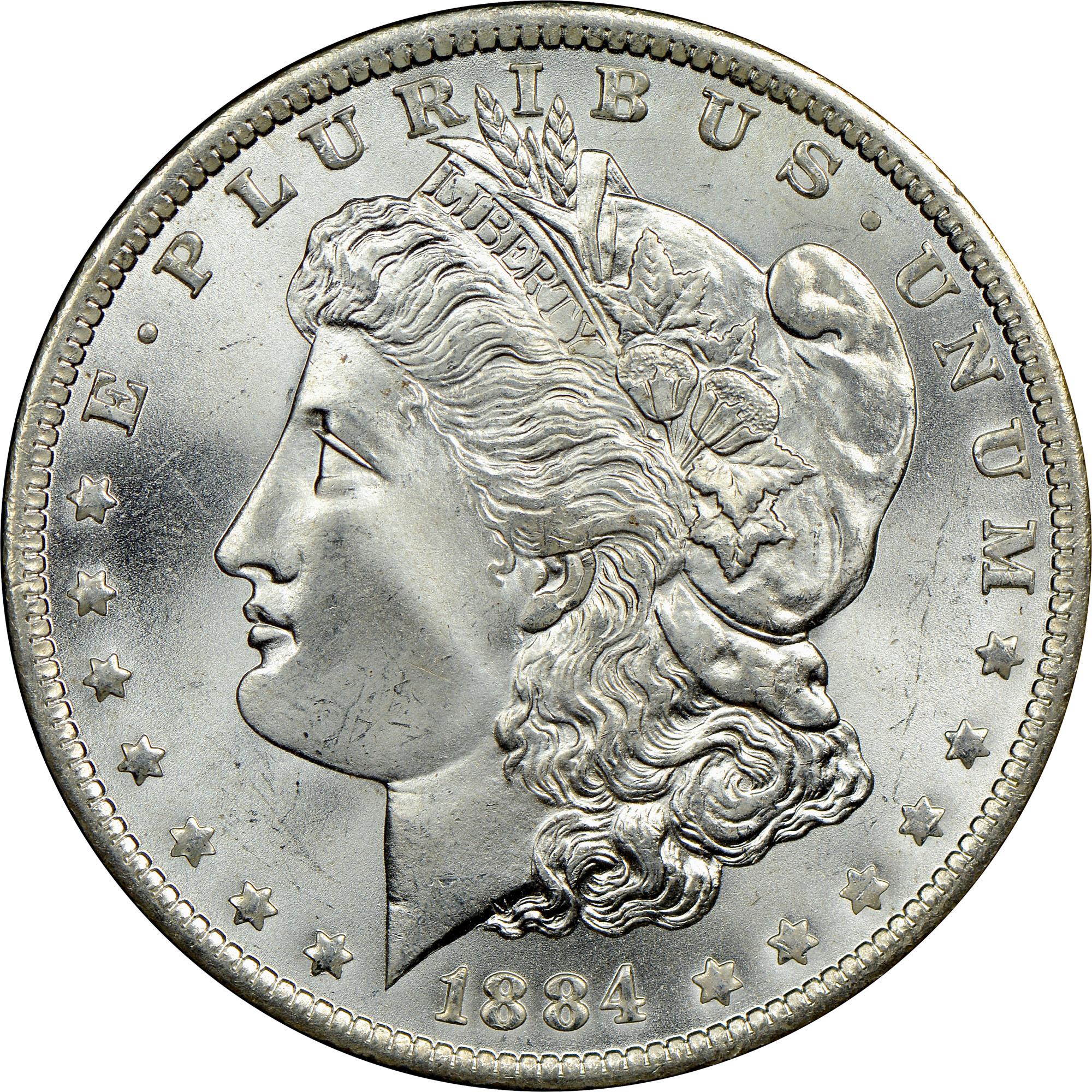 1884 one dollar coin value