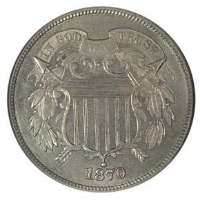 1870 J-792 2C PF obverse