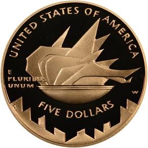 2002 W OLYMPICS $5 PF reverse
