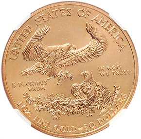 2011 EAGLE G$50 MS reverse