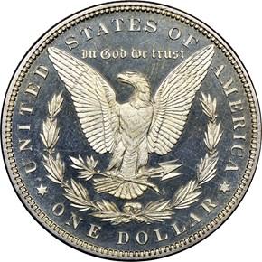 1882 $1 PF reverse