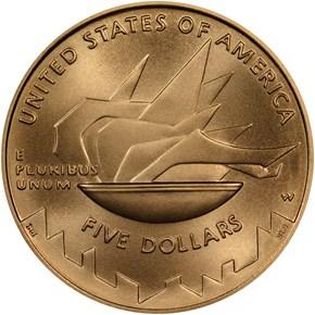 2002 W OLYMPICS $5 MS reverse