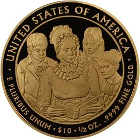 2009 W ANNA HARRISON G$10 PF reverse