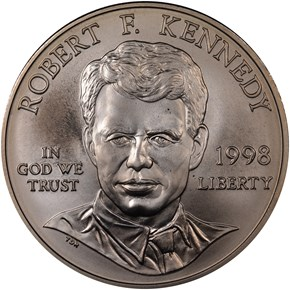 1998S ROBERT KENNEDY S$1 MS obverse