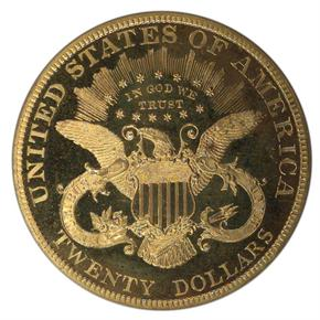 1894 $20 PF reverse