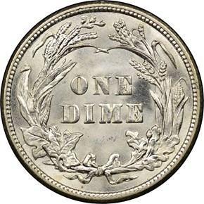 1912 10C MS reverse