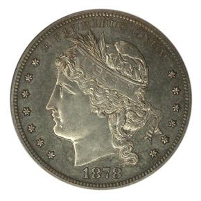 1878 J-1558 S$1 PF obverse