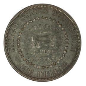 1878 J-1558 S$1 PF reverse