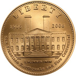 2006 S SAN FRANCISCO OLD MINT $5 MS obverse