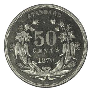1870 J-961 50C PF reverse