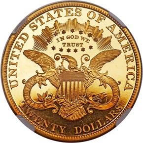 1898 $20 PF reverse