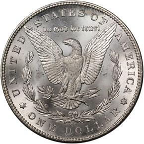 1882 CC $1 MS reverse