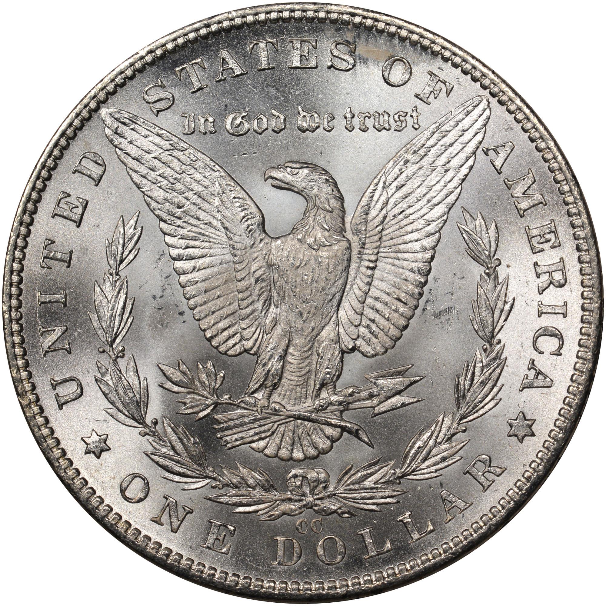 1882 Cc 1 Ms Morgan Dollars Ngc