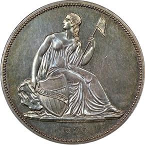 1836 SILVER GOBRECHT J-60 $1 PF obverse