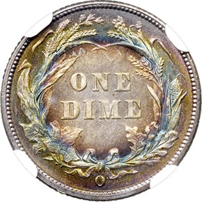 1897 O 10C MS reverse