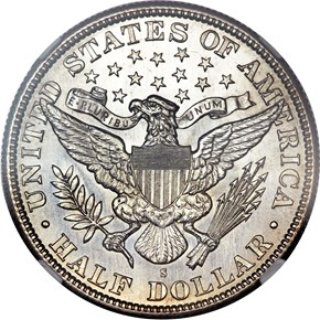 1895 S 50C MS reverse