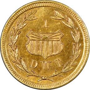 1909 WA GOLD ALASKA-YUKON-PACIFIC EXPO 1DWT MS reverse