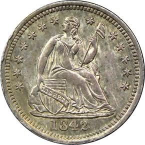 1842 H10C MS obverse