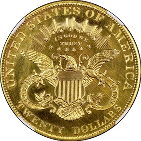 1902 $20 PF reverse