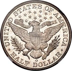 1902 O 50C MS reverse