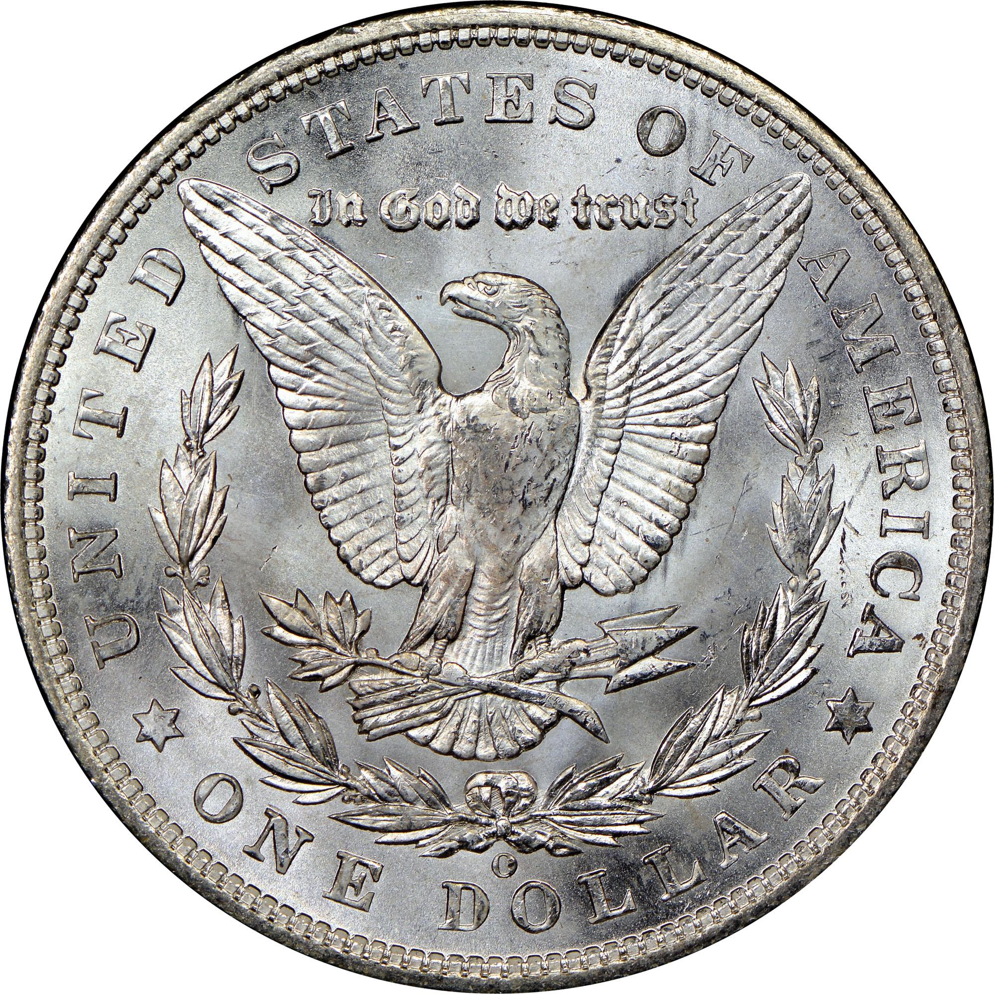 Coin Chart: 1904 O S$1 MS Morgan Dollars