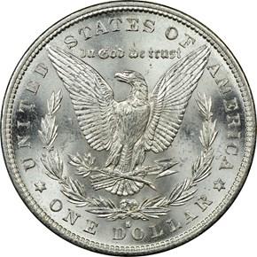 1882 S $1 MS reverse