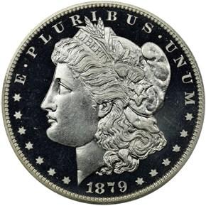1879 $1 PF obverse