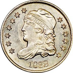 1832 H10C MS obverse