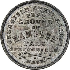 c.1861 BOLEN JAB-1 PIONEER BASEBALL CLUB AR/WM MS reverse